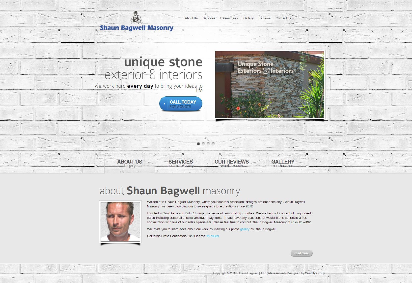 Shaun Bagwell Masonry